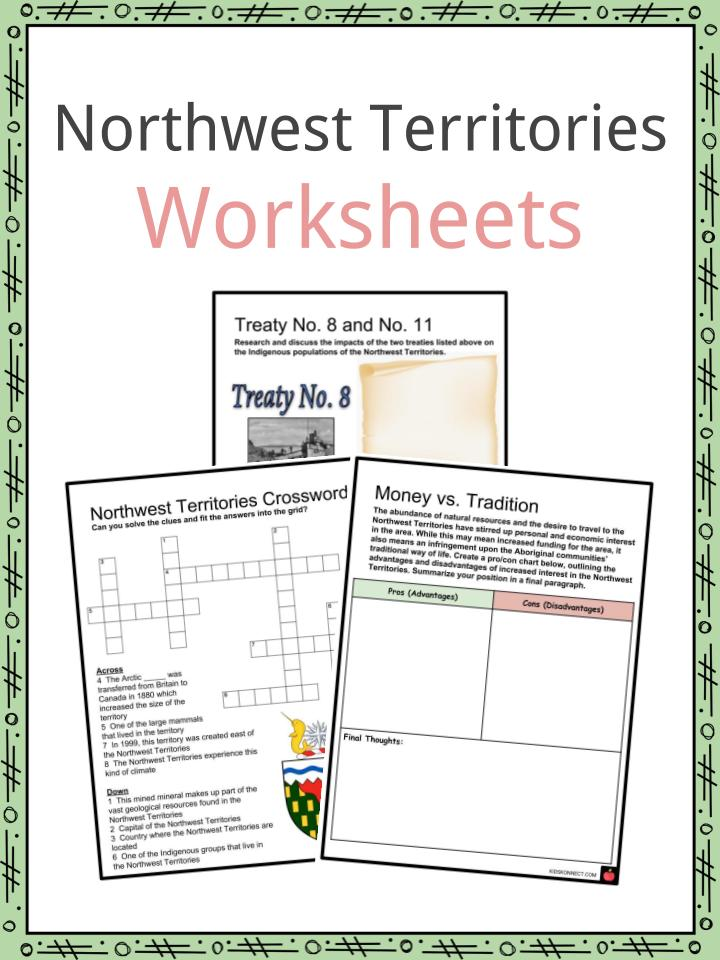 Northwest Territories Worksheets