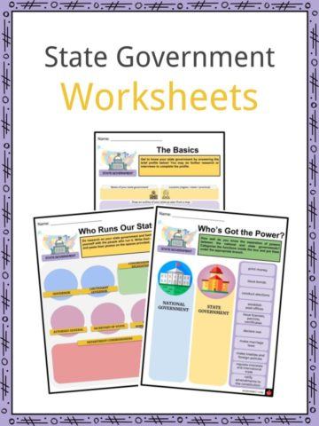 State Government Worksheets