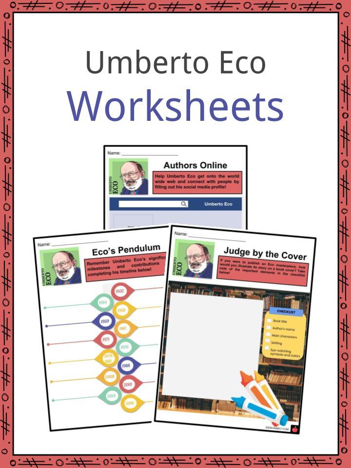 Umberto Eco Worksheets