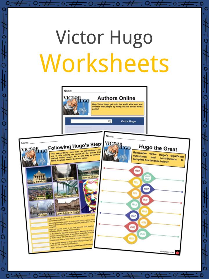Victor Hugo Worksheets