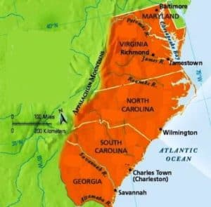 southern-colonies-facts