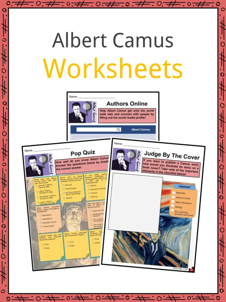 Albert Camus Worksheets