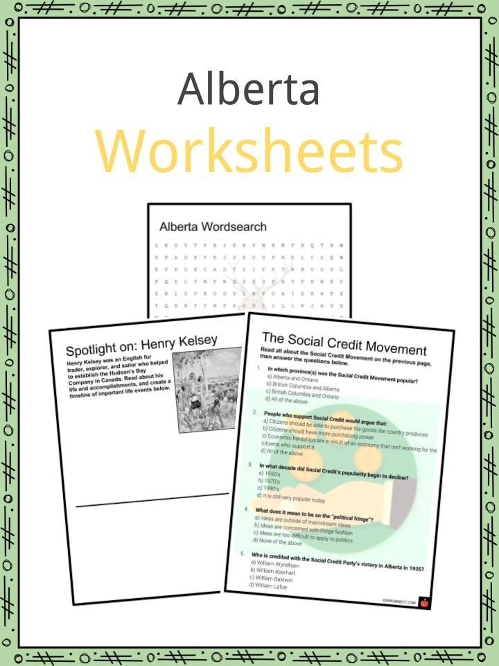 Alberta Worksheets