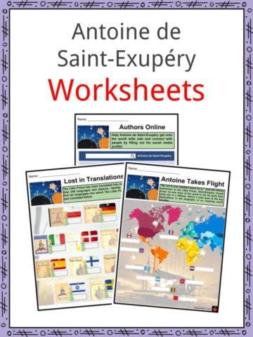 Antoine de Saint-Exupéry Worksheets