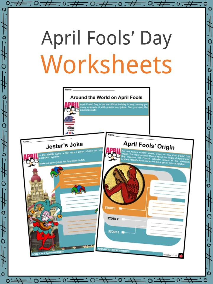 Every Day Seems To Be April Fools Day >> April Fools Day Facts Worksheets Background And Traditions For Kids