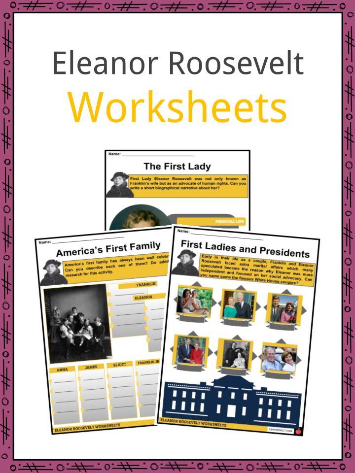 Eleanor Roosevelt Worksheets