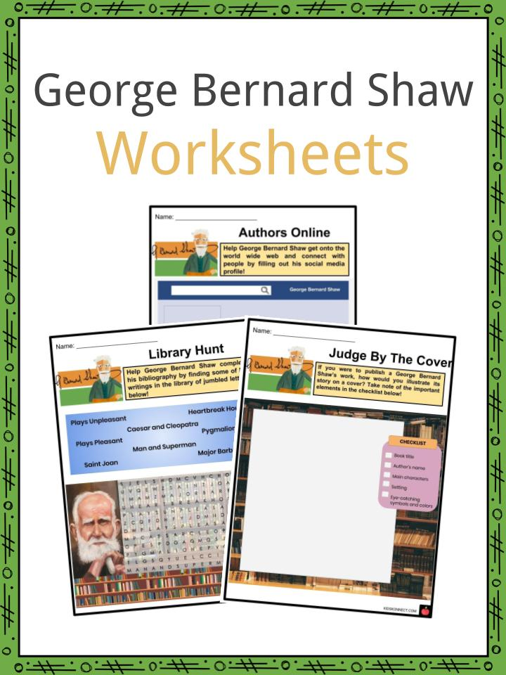George Bernard Shaw Worksheets