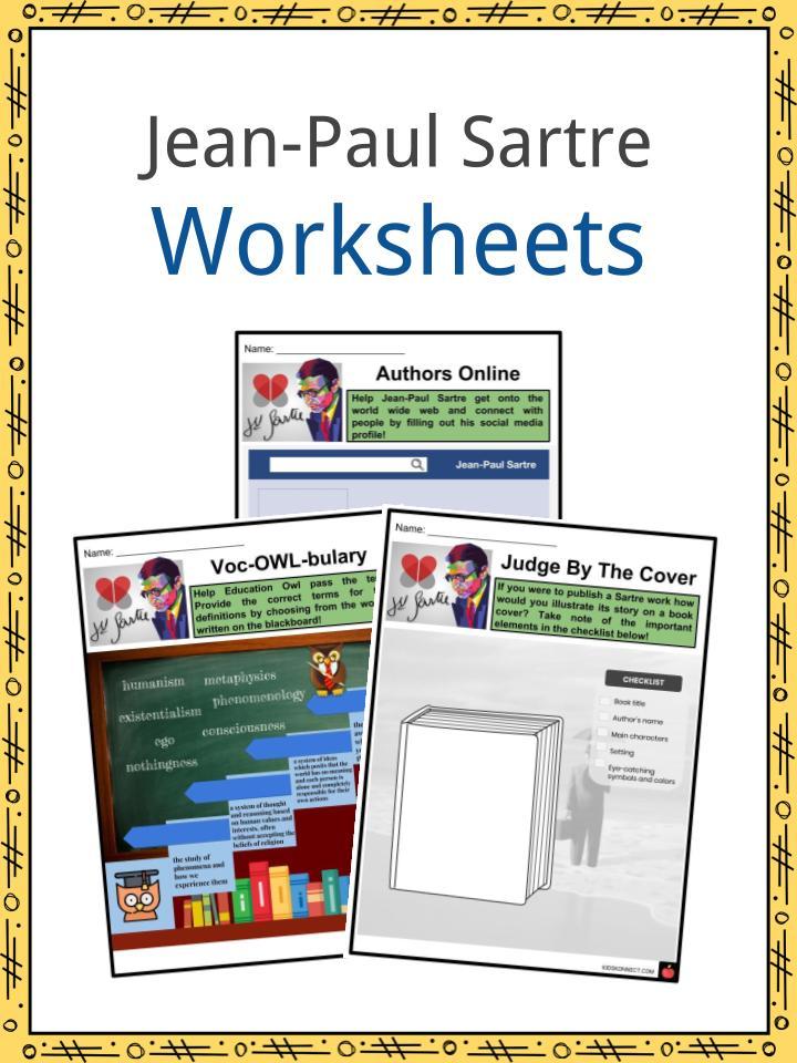 Jean-Paul Sartre Worksheets