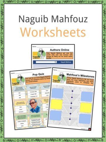 Naguib Mahfouz Worksheets