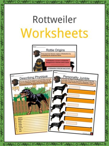 Rottweiler Worksheets
