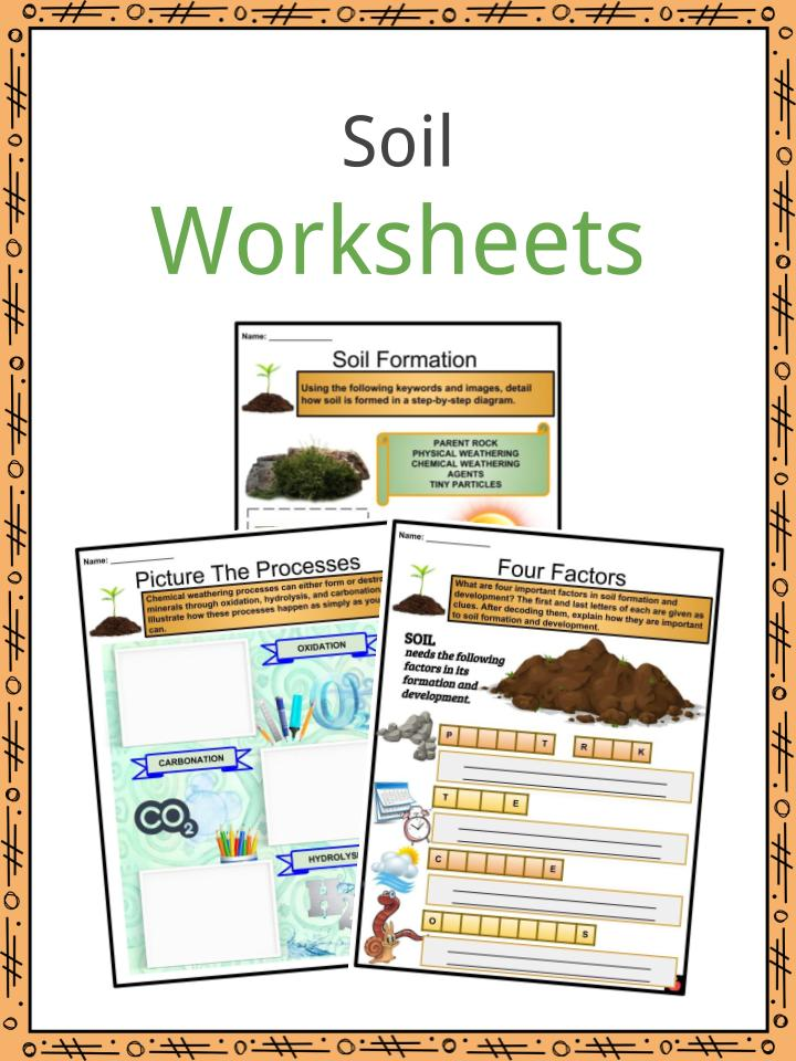 Soil Facts Worksheets And Formation Processes For Kids