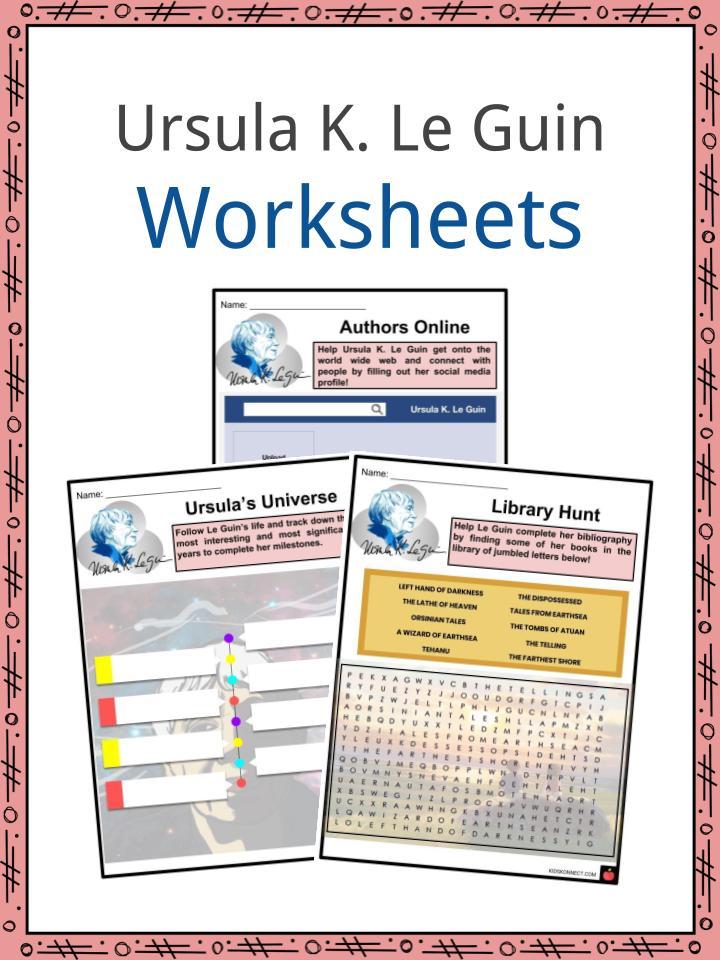 Ursula K. Le Guin Worksheets