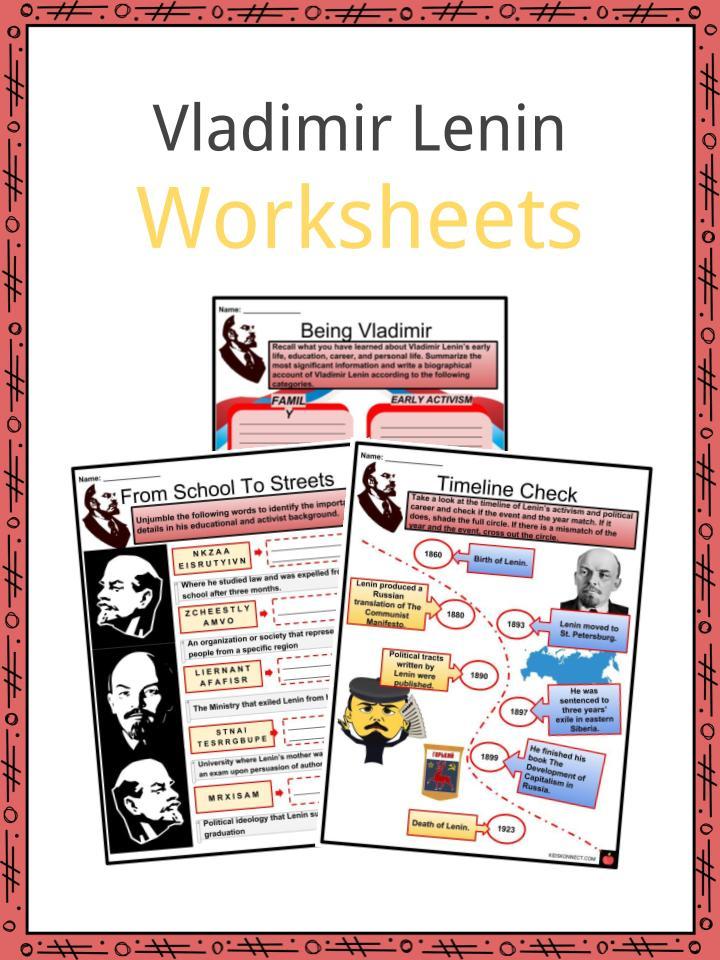Vladimir Lenin Worksheets