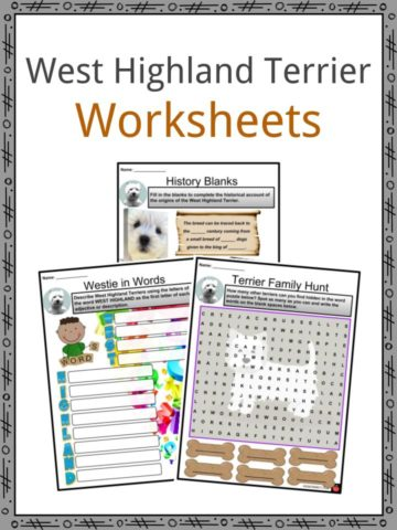 West Highland Terrier Worksheets
