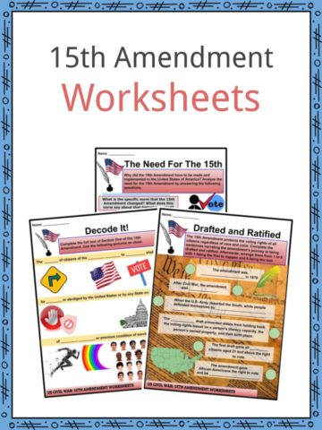 15th Amendment Worksheets