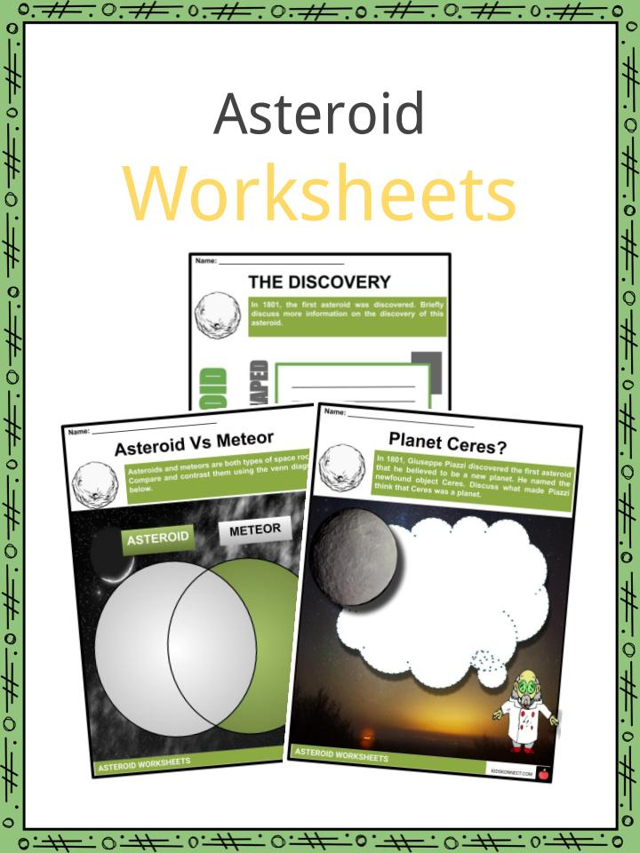 Asteroid Worksheets