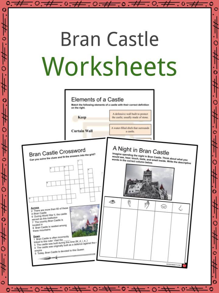 Bran Castle Worksheets