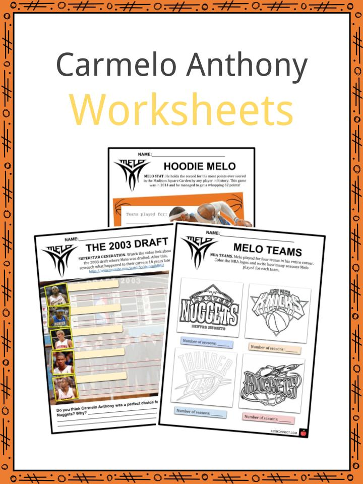 675f80cdab25 Carmelo Anthony Facts   Worksheets