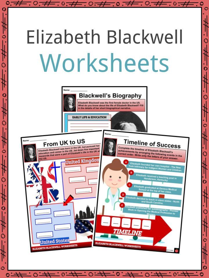 Elizabeth Blackwell Worksheets