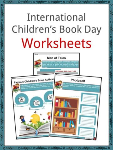 International Children's Book Day Worksheets