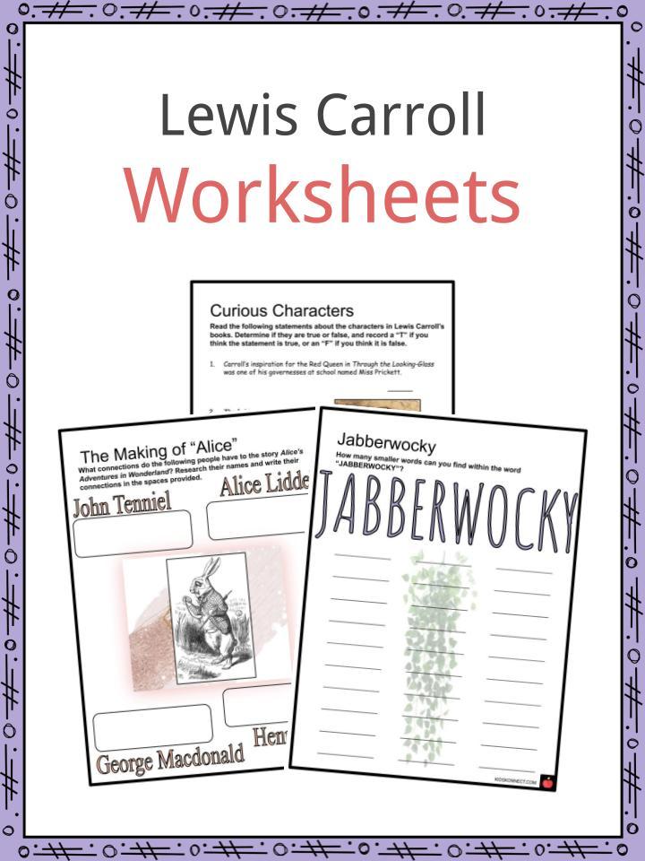 Lewis Carroll Worksheets