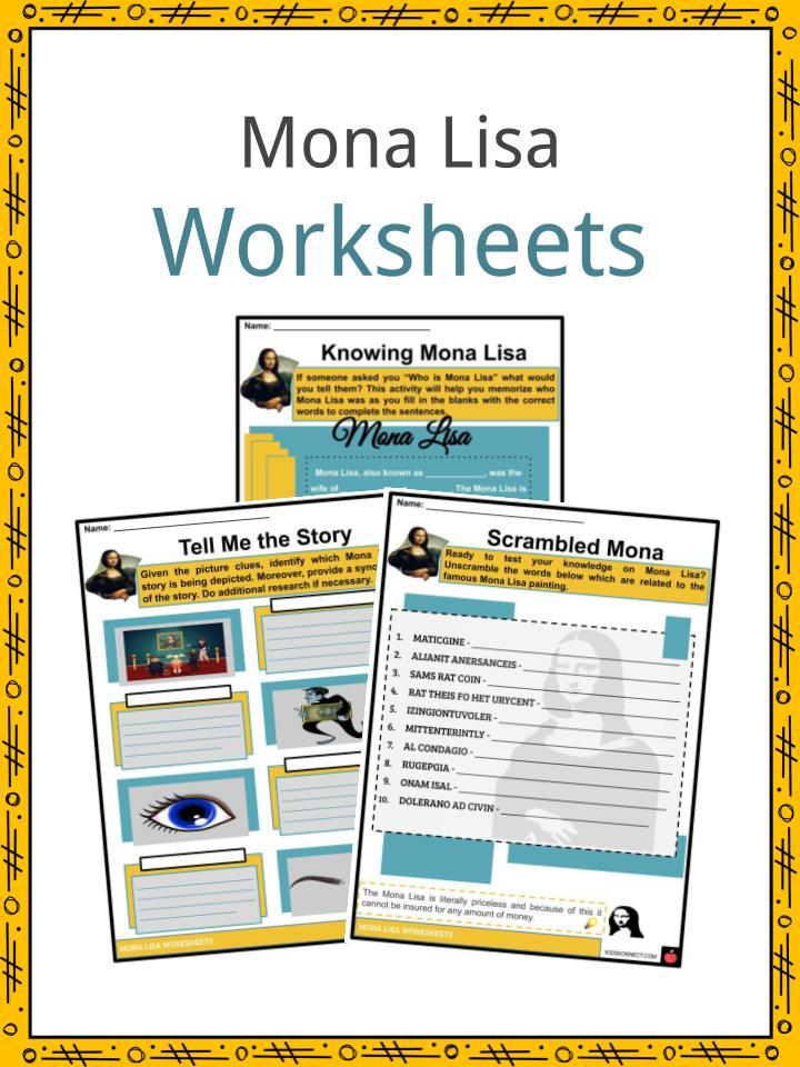 Mona Lisa Worksheets