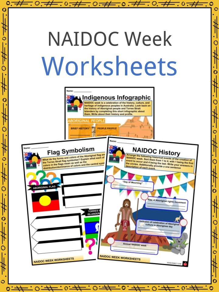 NAIDOC Week Facts, Worksheets, History, Flags & Activites For Kids