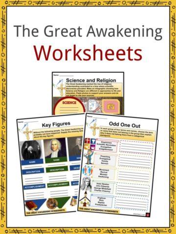 The Great Awakening Worksheets
