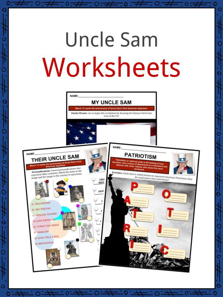 Uncle Sam Worksheets