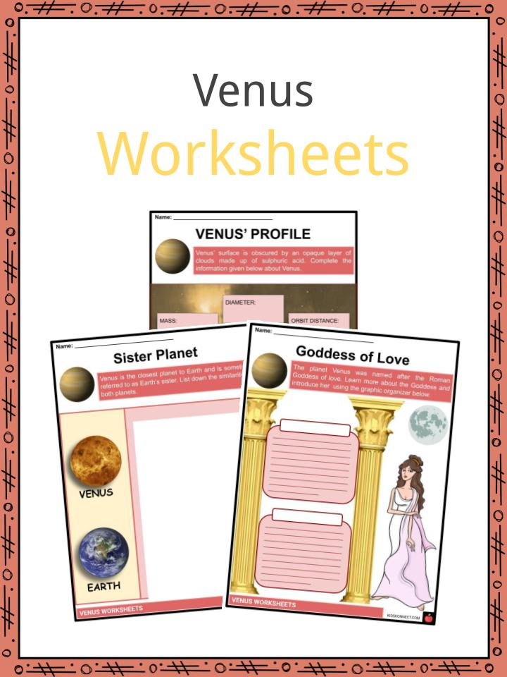 Venus Worksheets
