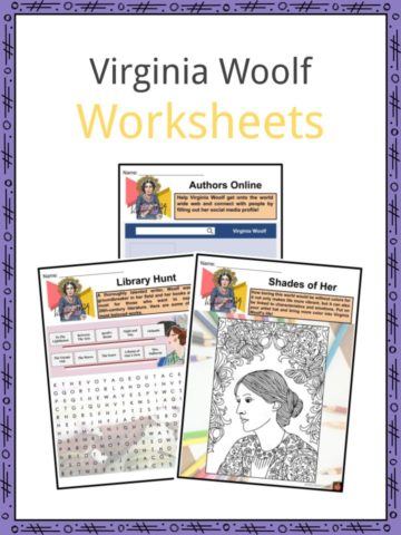 Virginia Woolf Worksheets
