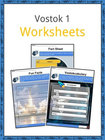 Vostok 1 Worksheets