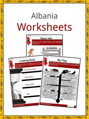 Albania Worksheets