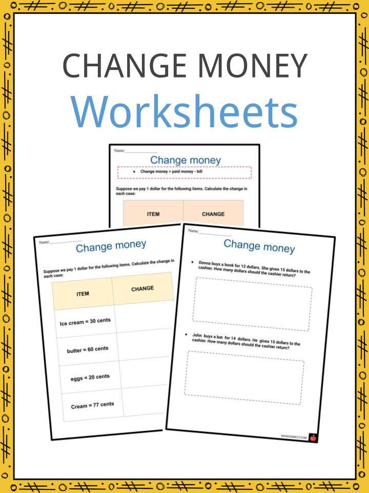 Change money Worksheets