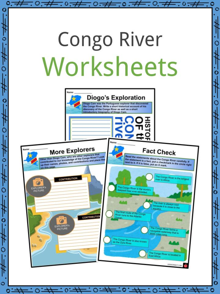 Congo River Worksheets