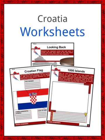 Croatia Worksheets