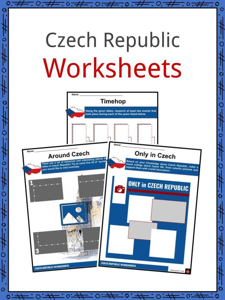 Czech Republic Worksheets