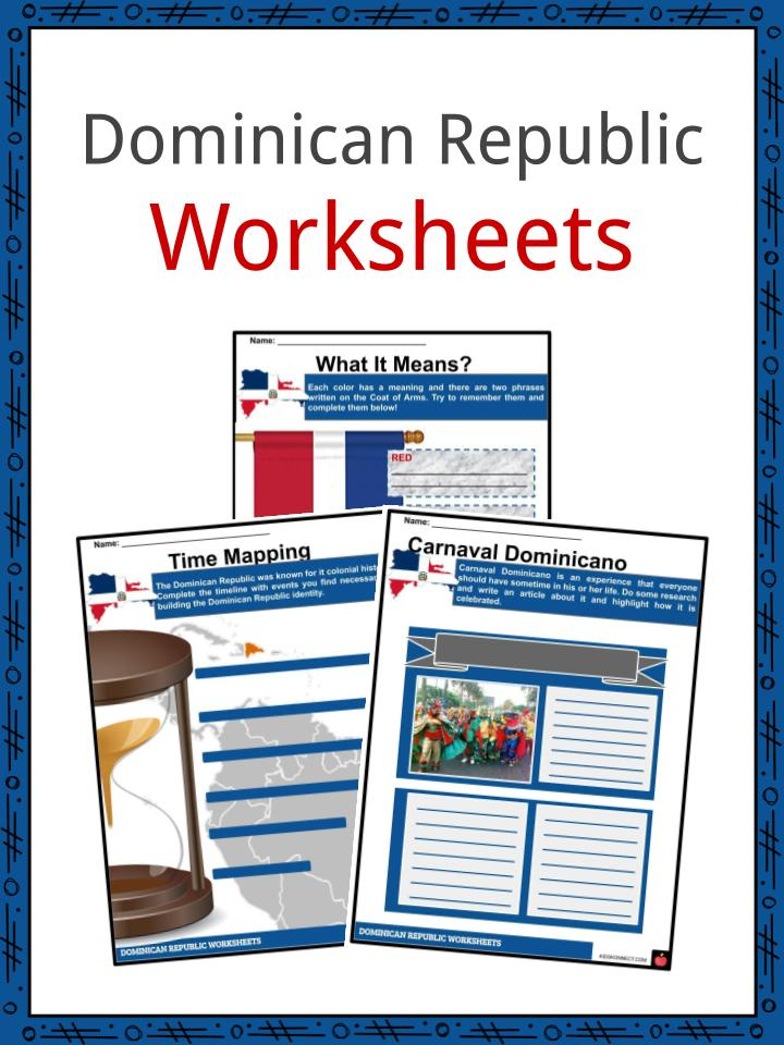 Dominican Republic Worksheets
