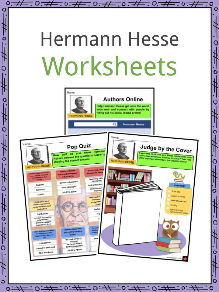 Hermann Hesse Worksheets