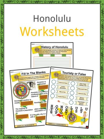 Honolulu Worksheets