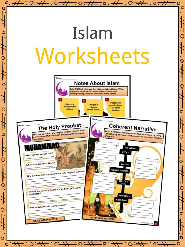 Islam Facts, Worksheets, History, Beliefs & Practices For Kids