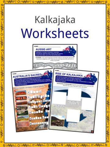 Kalkajaka Worksheets
