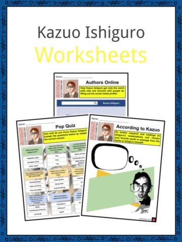 Kazuo Ishiguro Worksheets