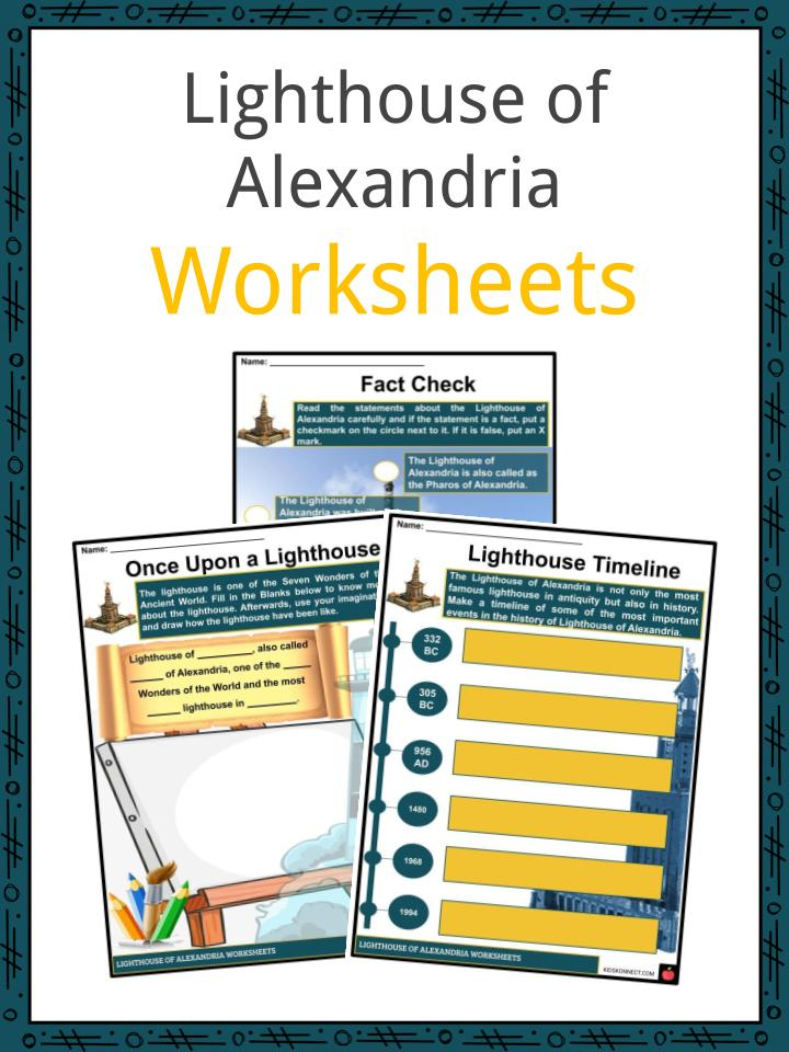 Lighthouse of Alexandria Worksheets