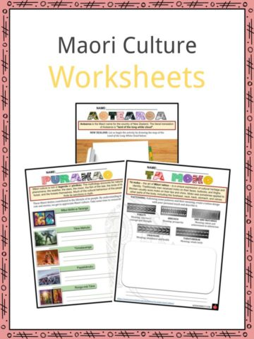 Maori Culture Worksheets