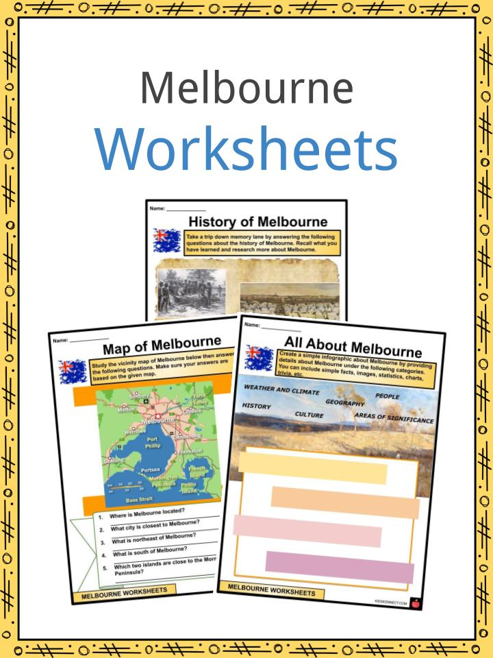 Melbourne Worksheets