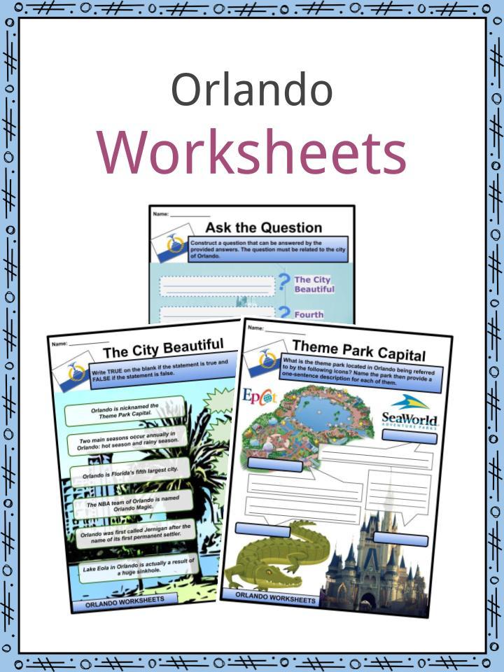 Orlando Worksheets