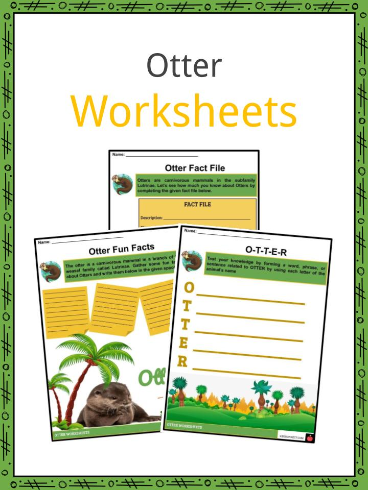 Otter Worksheets