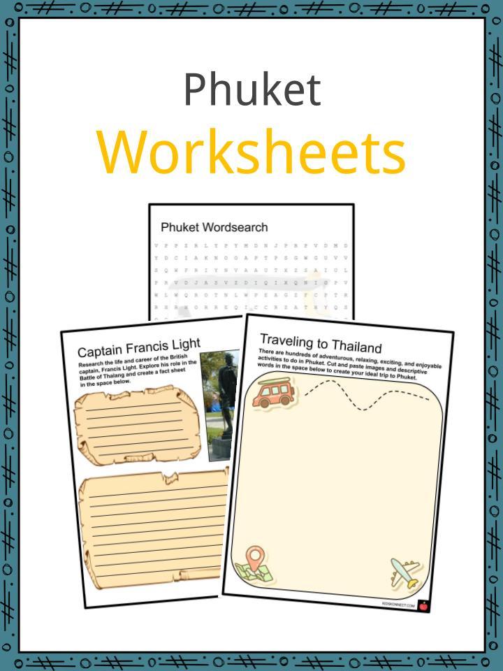 Phuket Worksheets