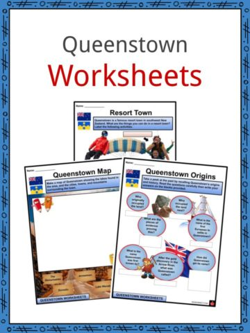 Queenstown Worksheets